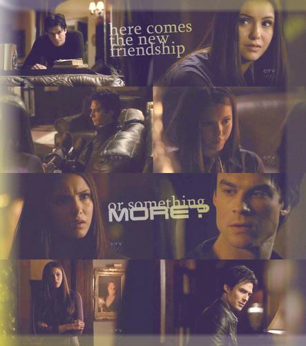 Damon et Elena