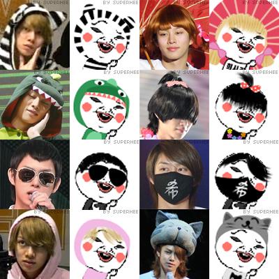 heechul faces