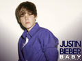 justin-bieber - jUStin IN puRPle wallpaper