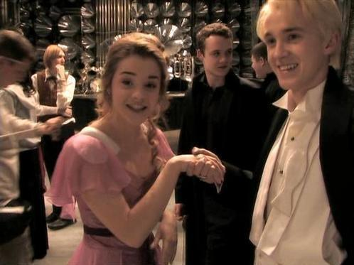 Sahpgocitheaf Tom Felton And Emma Watson Together