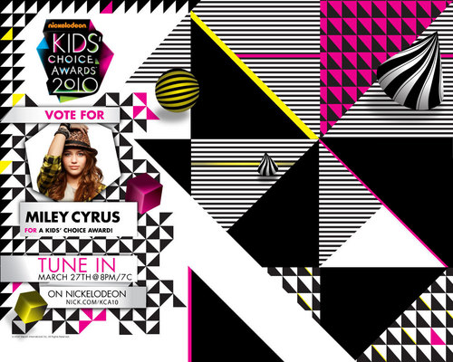 mILEY - nickelodeon-kids-choice-awards Wallpaper