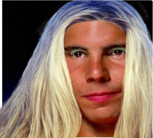 rafa blond hair