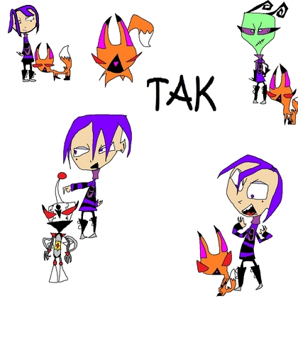 this is tak but since she killed mimi this is her new robot mir