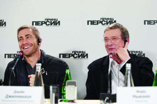 'Prince of Persia' Press Conference - Moscow (May 11th,2010)