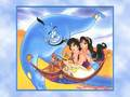 disney-couples - Aladdin and Jasmine wallpaper