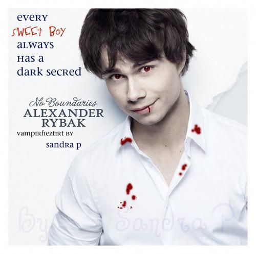 Alexander as Vampire