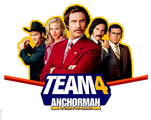 Anchorman Man hemd, shirt