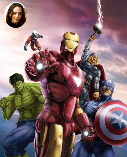 The Avengers wallpaper called Avengers Fan-made Poster