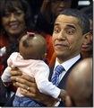 Barack Obama & Baby