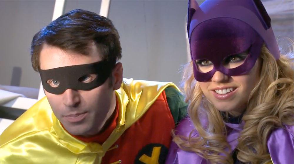 Batman XXX a porno parody