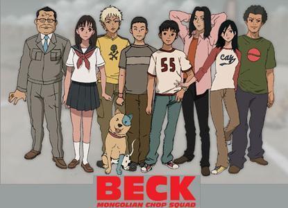 Beck cast