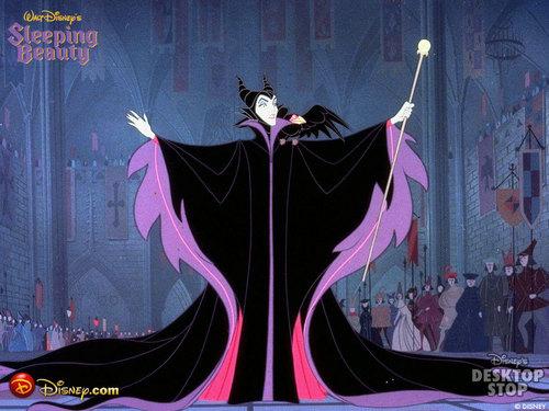 क्लॅसिक डिज़्नी वॉलपेपर titled Maleficent