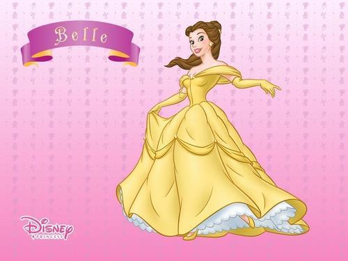 Classic Disney wallpaper called Belle
