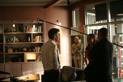 Bones_5x21_The Boy with the Answer_behind the scenes
