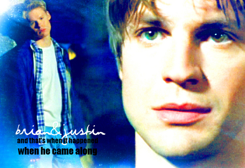 Queer As Folk wallpaper titled Brian & Justin