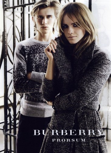 chổ lồi ở cây, burberry Autumn/Winter Campaign '09