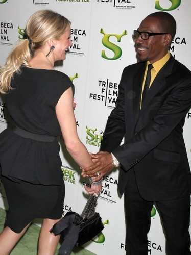 Cameron Diaz and cast at The 'Shrek Forever After' New York Premiere