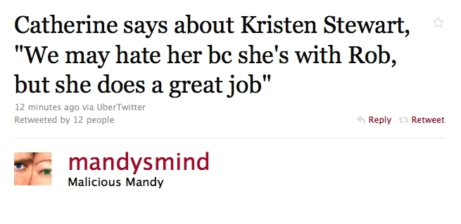 Catherine Hardwicke talks about Kristen