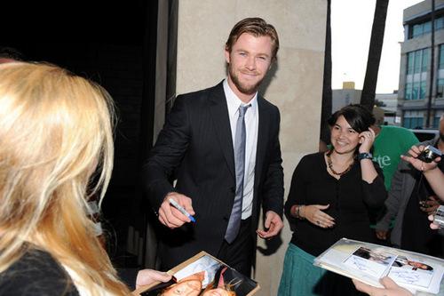 Chris @ 2010 Young Hollywood Awards