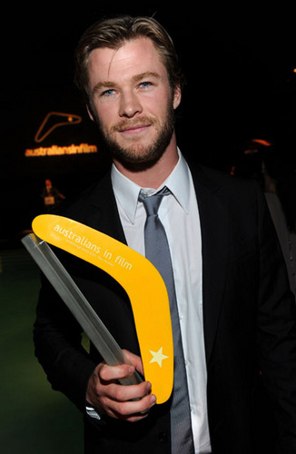 Chris @ 2010 Young Hollywood Awards