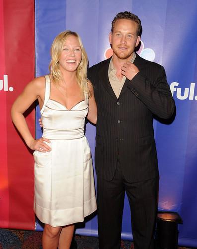 Cole Hauser & Kelli Giddish @ 2010 NBC Upfronts