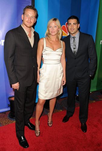 Cole Hauser, Kelli Giddish & Jesse Metcalfe @ 2010 NBC Upfronts