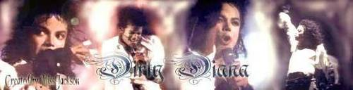 DIRTY DIANA - BANNER