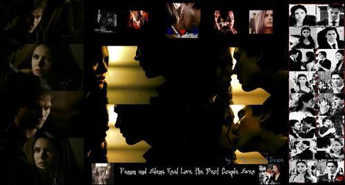 Damon and Elena True Cinta