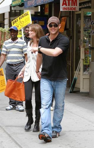 Danneel & Jensen in NY