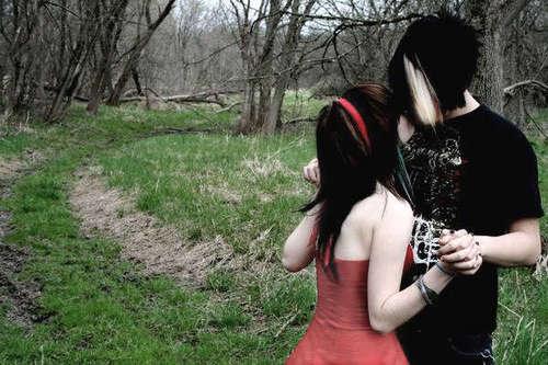 Emo Love Photo