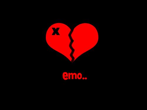 Emo Love Wallpaper