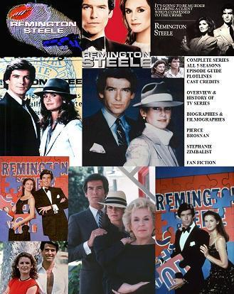 Remington Steele karatasi la kupamba ukuta entitled Episode Guide Remington Steele
