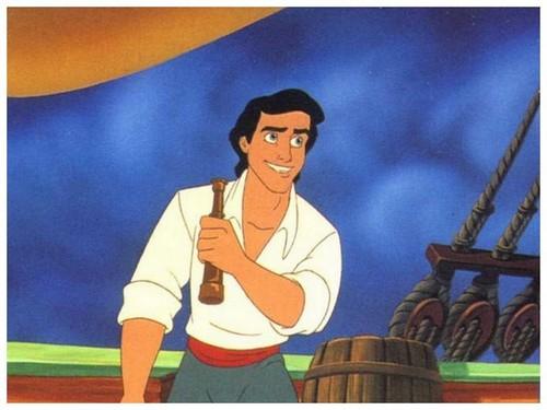 Disney Prince karatasi la kupamba ukuta titled Eric