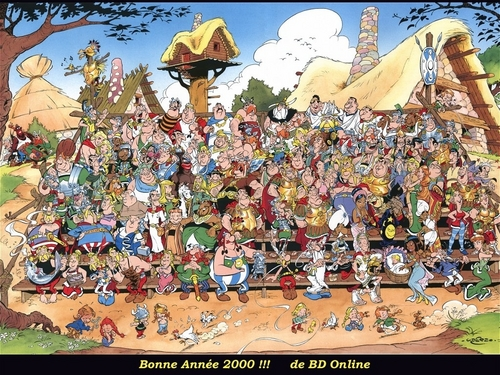 Asterix wallpaper called Everybody