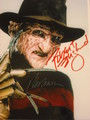 Freddy Krueger autographed photo  - horror-movies photo