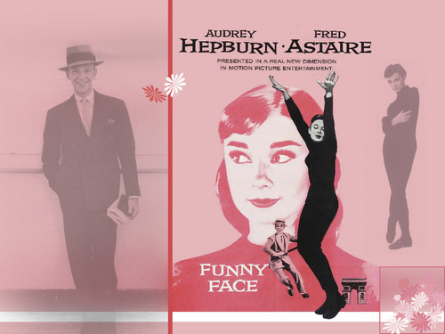 Funny Face - audrey-hepburn Wallpaper