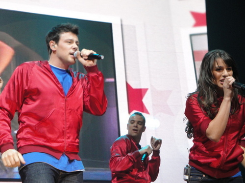 Glee konsert IN PHOENIX, ARIZONA - MAY 15, 2010
