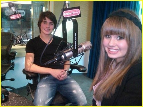 Gregg Sulkin With Debby Ryan