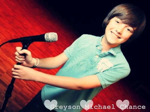 Greyson and the Microphone