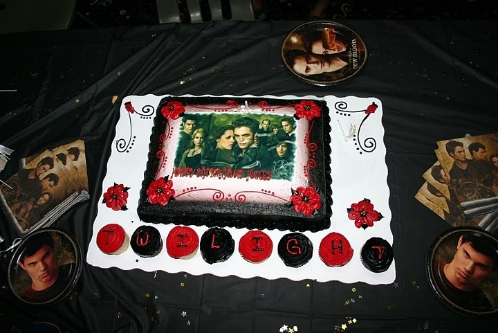 HAILEY'S TWILIGHT CAKE - twilight-series photo