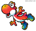 Happy red yoshi - red-yoshi photo