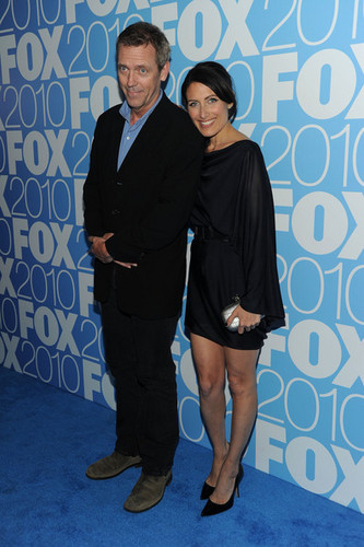 Hugh Laurie & Lisa Edelstein @ the 2010 zorro, fox Upfront After Party