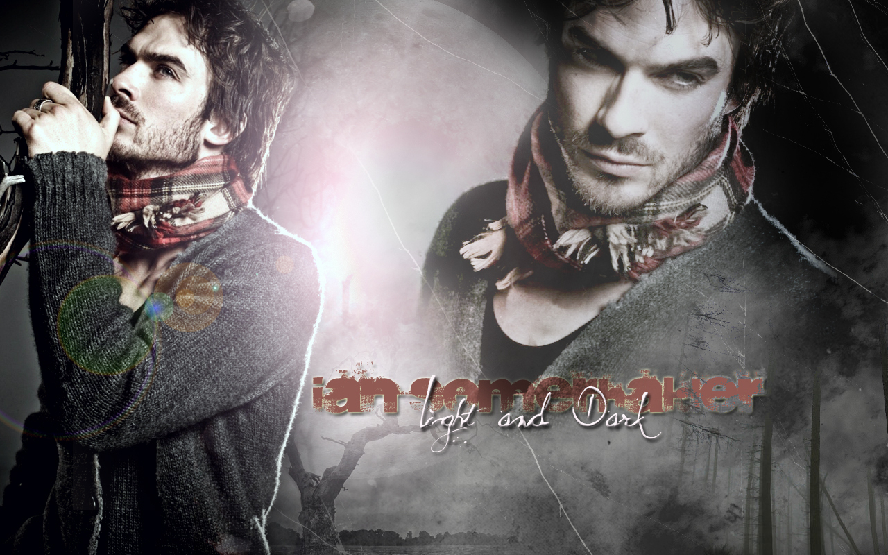 Ian Somerhalder - Wallpaper - the-vampire-diaries-tv-show wallpaper
