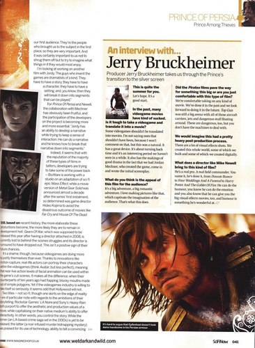 Jake in Sci Fi Now (June 2010) Scans  - jake-gyllenhaal Photo