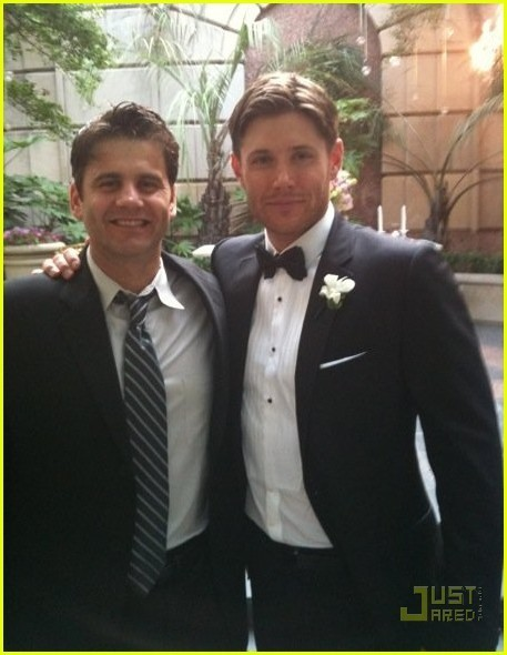 Jensen Wedding Pictures Jensen Ackles' Wedding