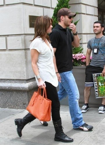 Jensen Ackles wallpaper called Jensen & Danneel out in NYC