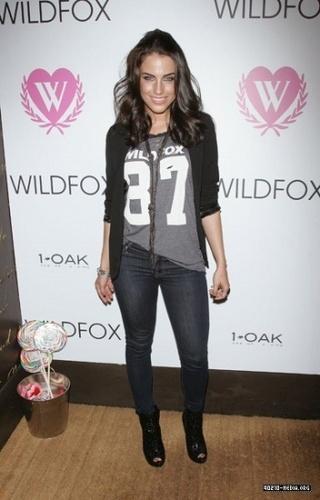 Jessica @ WILDFOX Fall 2010 Collection Celebration