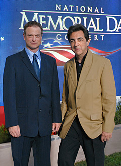 Joe & Gary Sinise @ the National Memorial dia show, concerto
