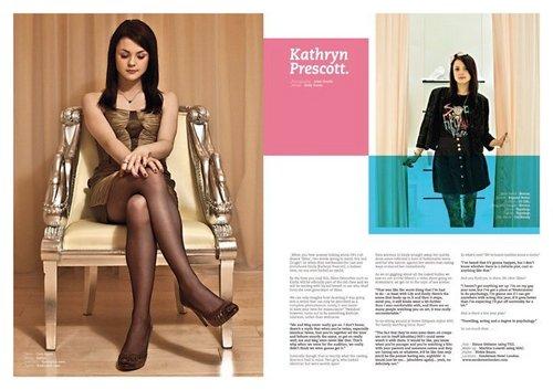 Kat in Болталка Magazine