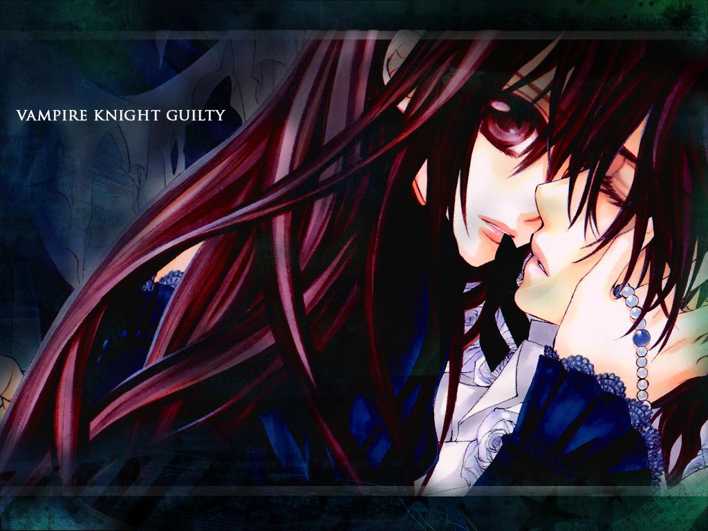 Vampire Knight Yuki And Kaname Kiss